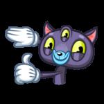 Пси-Кот: cтикер №3