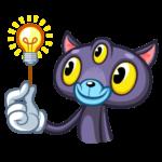 Пси-Кот: cтикер №21