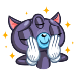 Пси-Кот: cтикер №42