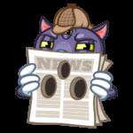 Пси-Кот: cтикер №44