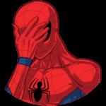 Человек-Паук: cтикер №3