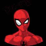 Человек-Паук: cтикер №4