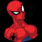 Человек-Паук: cтикер №5