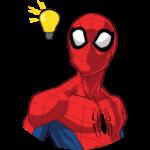 Человек-Паук: cтикер №6