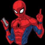 Человек-Паук: cтикер №7