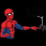 Человек-Паук: cтикер №17