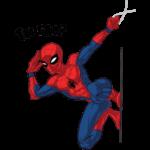 Человек-Паук: cтикер №22