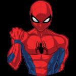 Человек-Паук: cтикер №28
