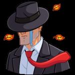 Секретный агент: cтикер №4