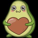 Авокадик: cтикер №10