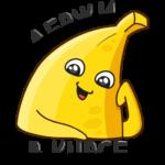 Бананос: cтикер №17