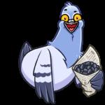Голубь Михаил: cтикер №1