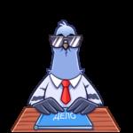 Голубь Михаил: cтикер №2