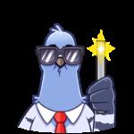 Голубь Михаил: cтикер №3