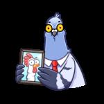 Голубь Михаил: cтикер №5
