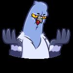 Голубь Михаил: cтикер №29
