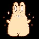 Кролик Супчик: cтикер №4