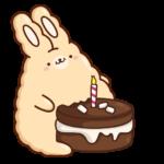 Кролик Супчик: cтикер №15