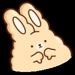 Кролик Супчик: cтикер №17