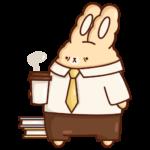 Кролик Супчик: cтикер №19