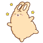 Кролик Супчик: cтикер №22