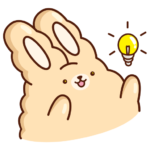 Кролик Супчик: cтикер №25