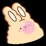 Кролик Супчик: cтикер №27