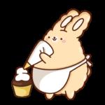 Кролик Супчик: cтикер №28