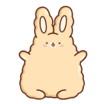 Кролик Супчик: cтикер №29