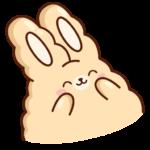Кролик Супчик: cтикер №30