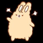 Кролик Супчик: cтикер №34