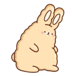Кролик Супчик: cтикер №35
