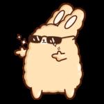 Кролик Супчик: cтикер №37
