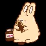 Кролик Супчик: cтикер №38