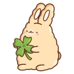 Кролик Супчик: cтикер №41