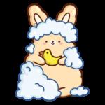Кролик Супчик: cтикер №45