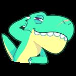Тираннозавр Дино: cтикер №1