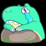 Тираннозавр Дино: cтикер №16