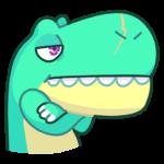 Тираннозавр Дино: cтикер №33