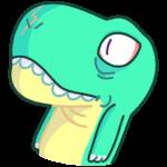 Тираннозавр Дино: cтикер №35