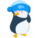 Пингвин Джордж: cтикер №2