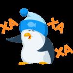 Пингвин Джордж: cтикер №3