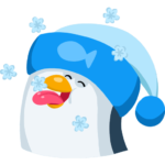 Пингвин Джордж: cтикер №4