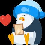 Пингвин Джордж: cтикер №5