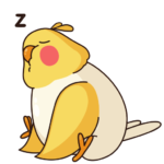 Птенчик: cтикер №2