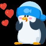 Пингвин Джордж: cтикер №7