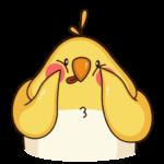 Птенчик: cтикер №16