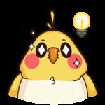Птенчик: cтикер №37