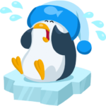Пингвин Джордж: cтикер №10