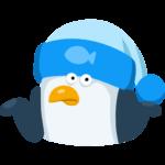 Пингвин Джордж: cтикер №12